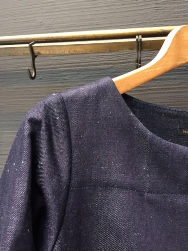 R&D.M.Co 15AW第1弾 DENIM SKIRT PULLOVER BLOUSE PULLOVER DRESS