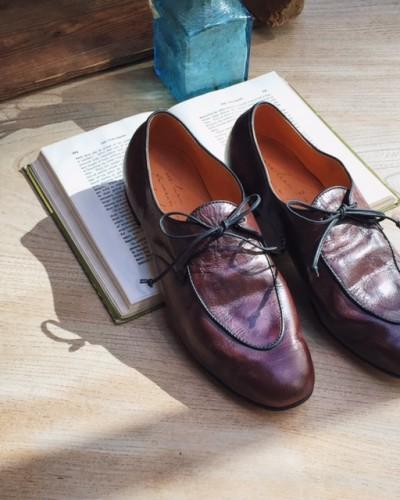 ハンドメイドの靴 R.U新作入荷してます!