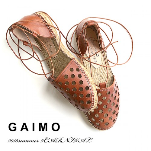 GWフェアのお知らせと「gaimo」からレースアップエスパドリーユ!