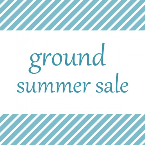 7月1日(金)~ground SALEスタート致します。
