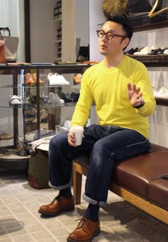ショセ前田氏インタビュー第一弾< ~chausserを始めたきっかけ編~ >