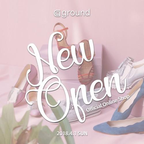 4/1(日) ground オフィシャルオンラインショップオープン
